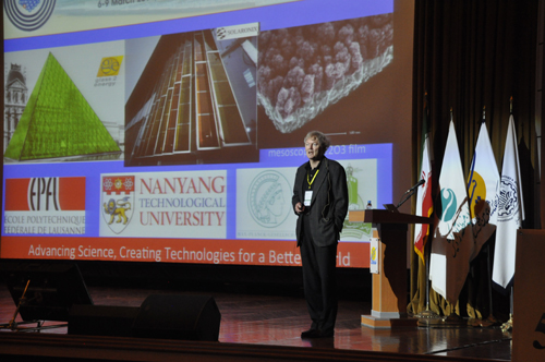 Prof. Michael Graetzel, Keynote Speaker of ICNS5